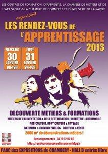 RENDEZ-VOUS de l'APPRENTISSAGE 2013 flyer-2013-211x300
